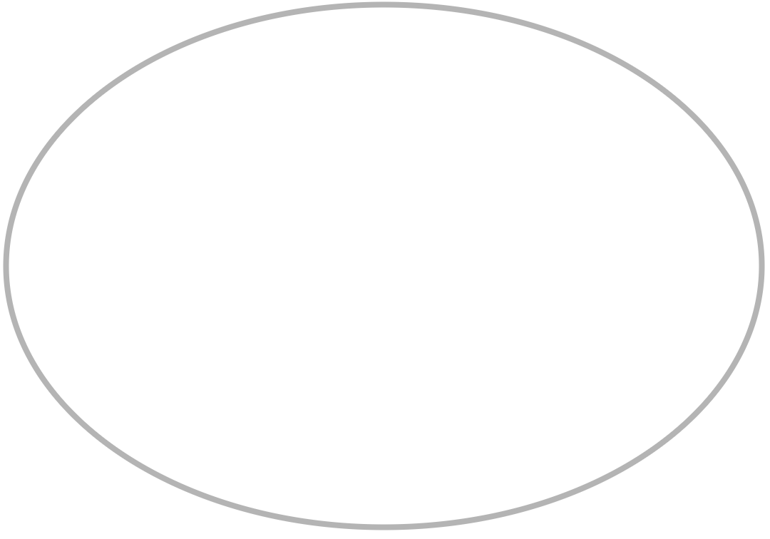 Persnickety image in printable oval template