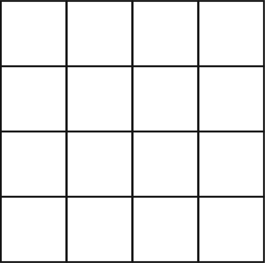 4x4 bingo blank bingoboard 4x4 for 4x4 bingo template