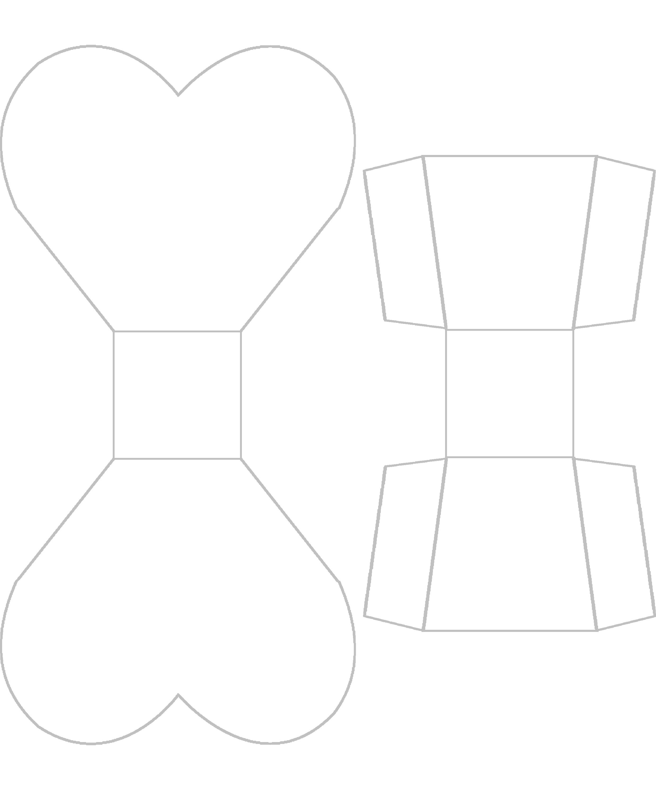 Free Craft Projects: Heart Treat Box
